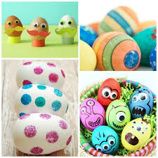 Easter Egg Decorations Ideas by Toddler Egg Decorating Ideas Growing A Jeweled Rose