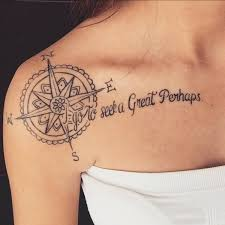 35 cute clavicle tattoos for women clavicle tattoo compass and