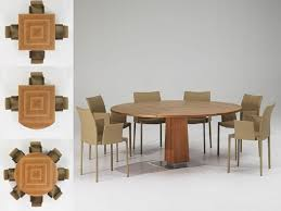 Expandable Dining Room Tables Round Expandable Dining Table Modern Round Dining Room Tables