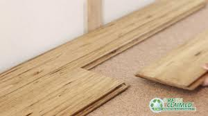 Laminate Flooring Installation Problems Eucalyptus Wood Flooring Natural Wide Click Lock Youtube