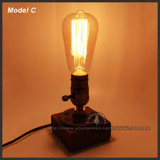 Old Fashioned Desk Lamp Aliexpress Com Buy Retro Coffee Shop Table Lamp Wood Vintage