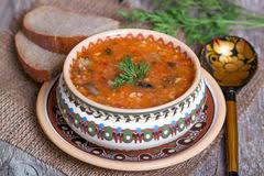 cuisine traditionnelle russe cuisine russe traditionnelle potage aux légumes de chou et de tom