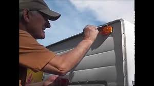 Vintage Travel Trailer Awnings Cleaning The Awning Track On A Vintage Travel Trailer Youtube