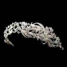 rhinestone headband kassia swarovski rhinestone headband bridal hair accessories