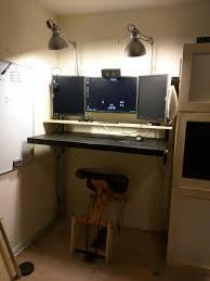 Diy Desk From Door by Diy Standing Desk Build Album On Imgur
