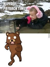 Running Bear Meme - run pedo run i m running by rakac meme center