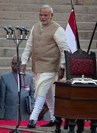 modi dress narendra modi chucks trademark half sleeve kurta for swearing in