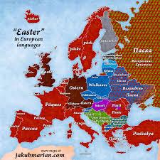 etymological maps