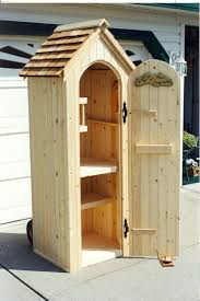 custom pine outdoor garden tool shed