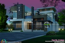rs 70 lakhs budget estimated modern house kerala home design and