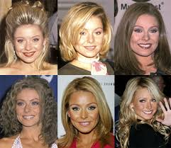 hair color kelly ripa uses which hairstyle do you like best on kelly kelly ripa and she s