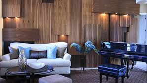 Marvelous Idea Wood Wall Living Room Interesting Design Wooden - Wood living room design