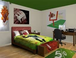 Youth Football Bedroom 9 Best Sports Bedrooms Images On Pinterest Bedroom Ideas Teen