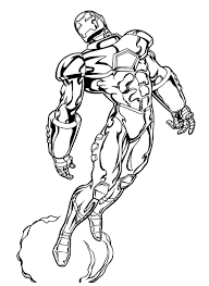 iron man marvel coloring pages coloringstar