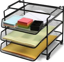 2 Tier Desk by Deco Brothers Decobros Stackable 3 Tier Desk Document Letter Tray