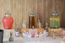 Decoration Vintage Mariage Bar à Limonades Candy Bar De Mariage Bohème Chic Scénographie Et