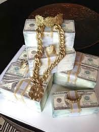 edible money money cake with edible gold chain microphone cake