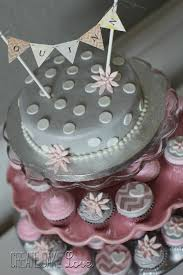 pink and grey baby shower create bake pink and grey baby shower