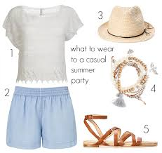 what to wear to a summer party