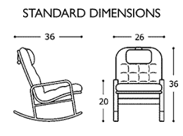 Normal Chair Dimensions Rockers For Nursing Mom Seniors Health Dementia Relief And Back