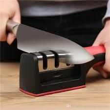 Sharpening Kitchen Knives New Two Stages Diamond Ceramic Kitchen Knife Sharpeners Sharpening