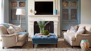 simple living rooms with ottomans with small home decoration ideas