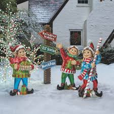 Christmas Ornaments Outdoor Tree by Outdoor Christmas Decor Outdoor Christmas Displays Frontgate