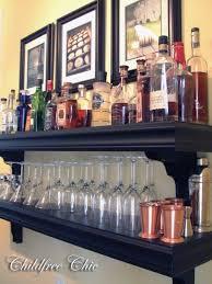 Home Decor Shelf Ideas Best 25 Bar Shelves Ideas On Pinterest Bar Ideas Bar And