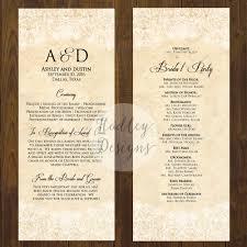 sle wedding programs template make a wedding program online endo re enhance dental co