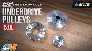 95 mustang gt underdrive pulleys 1994 1995 mustang 5 0l sr performance underdrive pulleys review