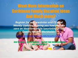 caribbean family vacation ideas
