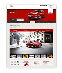 toyota web all new toyota yaris website web design gallery pinterest
