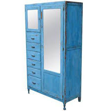 Vintage Blue Cabinets Vintage U0026 Used Blue Storage Cabinets And Cupboards Chairish