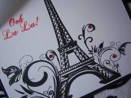 eiffel tower invitations parisian sweet 16 quinceañera invitations eiffel