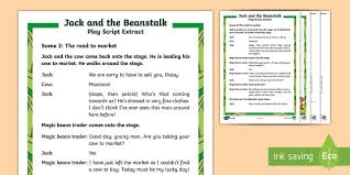 jack and the beanstalk story primary resources story page 1