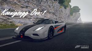 koenigsegg one wallpaper forza horizon 2 koenigsegg one 1 replica gameplay youtube