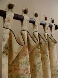 Tab Top Button Curtains Updated Tab Tops With Button Tabs Make As Valance Over Shower