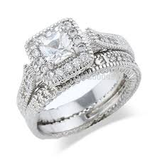 White Gold Cz Wedding Rings by Cz Wedding Ring Picture More Detailed Picture About Sz 6 9