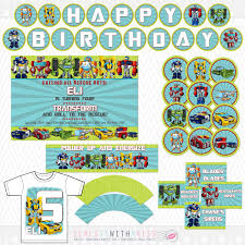 transformers rescue bots party supplies birthday party supplies rescue bots birthday party supplies
