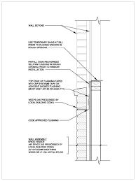 Window Sill Detail Cad Technical Information Huber Engineered Woods