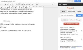 Google Doc Table Of Contents Google Docs Adds Ons For Students These 5 Will Help You Write A Paper