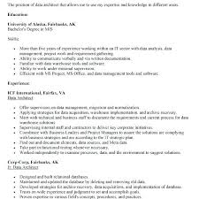 cover letter for architect data architect resume usa cover letter project manager assistant