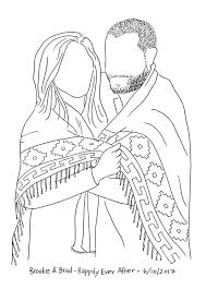 love is in the air two recent couple sketches