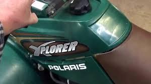 2001 Polaris Xplorer 250 4x4 Youtube