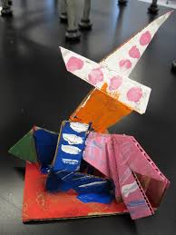 there u0027s a dragon in my art room 1st grade abstract cardboard
