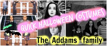 last minute halloween costumes the addams family youtube