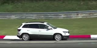 2018 skoda karoq loses camo for nurburgring testing squeals like