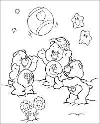 12 care bears images care bears coloring