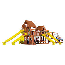 amazon com backyard discovery safari all cedar wood playset swing