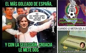 Ochoa Memes - los memes de la derrota de méxico ante croacia memo ochoa lo sufre